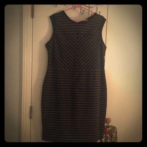 Merona Striped Mini Dress